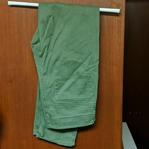 Green Vintage Slim Pants W30 L30